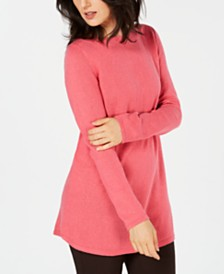 Karen Scott Solid Curved-Hem Tunic, Created for Macy's