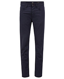 BOSS Men's Tapered-Fit Comfort-Stretch Denim Jeans