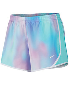Nike Big Girls Tempo Printed Running Shorts