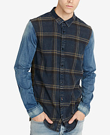 Buffalo David Bitton Men's Classic Fit Plaid Sadrindo Shirt