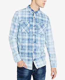 Buffalo David Bitton Men's Classic Fit Plaid Siyoon Shirt