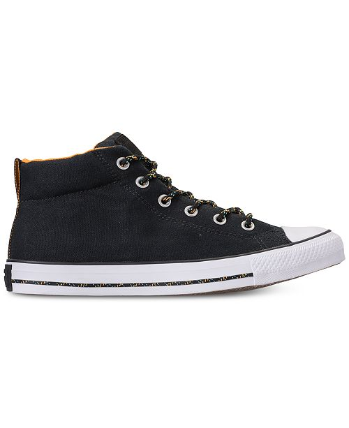 c9a666ab3502 ... Converse Men s Chuck Taylor Street Mid Casual Sneakers from Finish Line  ...