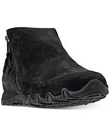 Skechers Women's Relaxed Fit: Bikers - Zippiest Booties from Finish Line