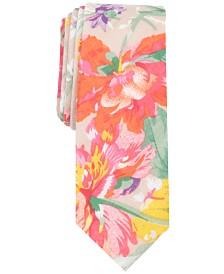 Penguin Men's Visser Floral Skinny Tie