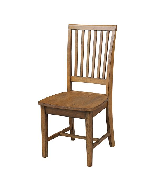International Concepts Mission Side Chair , Set of 2