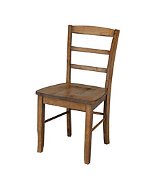 Madrid Ladderback Chair, Set of 2