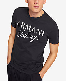 A|X Armani Exchange Men's Embroidered Logo T-Shirt