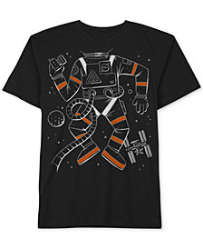 Jem Toddler Boys Space Selfie Graphic Cotton T-Shirt