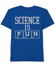 Jem Toddler Boys Science is Fun Graphic Cotton T-Shirt