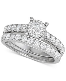 Diamond Bridal Set (1-1/2 ct. t.w.) in 14k White Gold