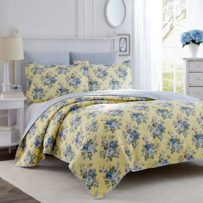 Twin Linley Yellow Quilt Set