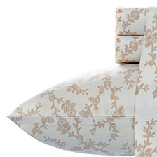 Laura Ashley Queen Victoria Taupe Sheet Set