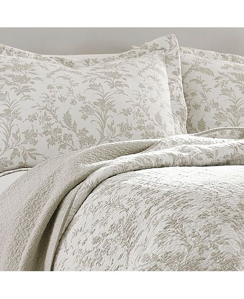 Laura Ashley Full Queen Amberley Quilt Set Amp Reviews
