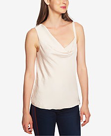 1.STATE Cowl-Neck Single-Strap Camisole