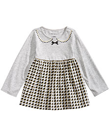 First Impressions Toddler Girls Houndstooth Tunic, Created for Macy's