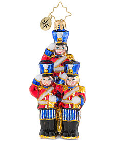 Christopher Radko Strike Up the Band Little Gem Ornament