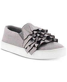 Kenneth Cole Little & Big Girls Kam Ruffle Sneakers