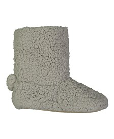 Lemon Double Berber Bootie