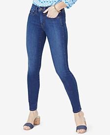 Petite Ami Tummy-Control Skinny Jeans