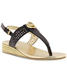 Michael Kors Little & Big Girls Perry Peony Sandals