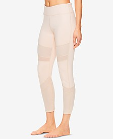 Gaiam Naomi Mesh-Detail Ankle Leggings