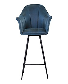 Olivier Counter Stool Blue