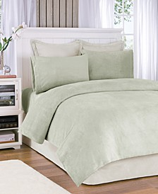 Soloft Plush 4-PC Queen Sheet Set
