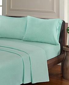 Urban Habitat Heathered 3-PC Twin Cotton Jersey Knit Sheet Set