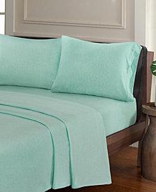 Urban Habitat Heathered 3-PC Twin XL Cotton Jersey Knit Sheet Set