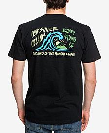 Quiksilver Men's Quick Start Logo Graphic T-Shirt
