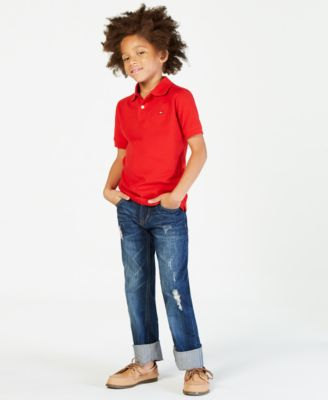 Ivy Stretch Polo Shirt, Big Boy