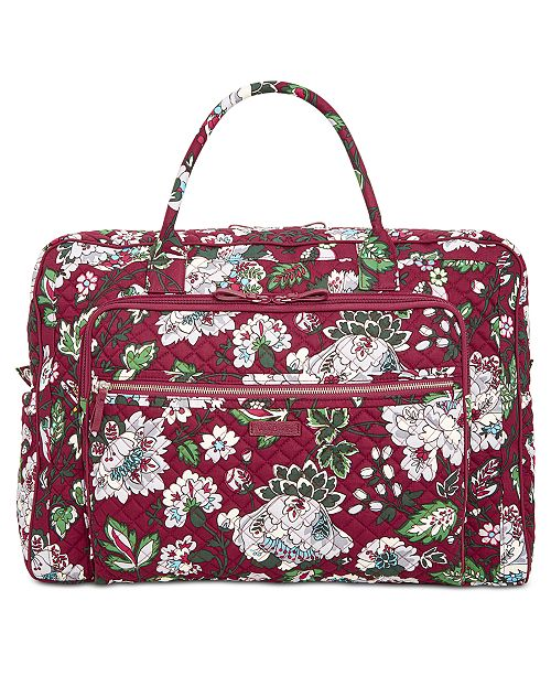 83fa509796ea Vera Bradley Iconic Grand Weekender Bag   Reviews - Handbags ...