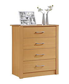4-Drawer Chest in Beech
