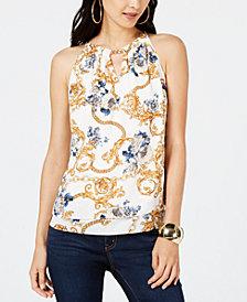 Thalia Sodi Chain-Neck Top, Created for Macy's