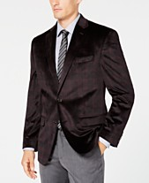 b5e9bc41c Lauren Ralph Lauren Men's Classic/Regular Fit UltraFlex Velvet Plaid Sport  Coat