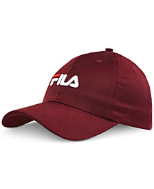 Fila Quilted Satin Hat