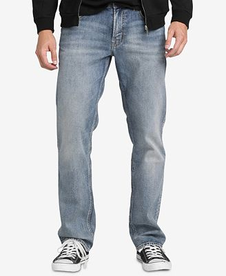 Silver Jeans Co. Men's Slim-Fit Faded Jeans