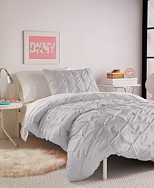 DKNY Kids Grey Twist Full/Queen Comforter Set