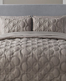 VCNY Home Atoll 7-Pc. Embossed Full Bed-in-a-Bag Set