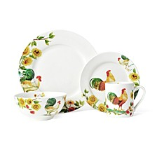Rooster Meadow 16 PC Set