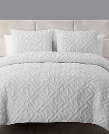 VCNY Home Artemis 3-Pc. Quilted King Down-Alternative Comforter Set