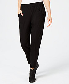 Eileen Fisher Tencel™ Tapered Pull-On Pants, Created for Macy's
