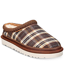 UGG® Men's Tasman Plaid Slip-Ons