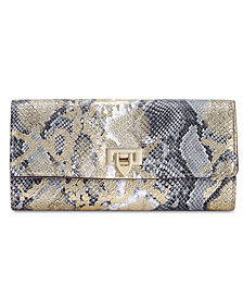 I.N.C. Glam Python-Embossed Jewelry Case, Created for Macy's