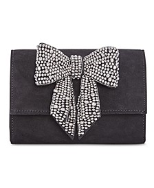 INC Maraa Rhinestone Bow Clutch, Created for Macy's