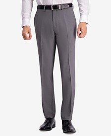 Men's Modern-Fit Micro-Check Dress Pants