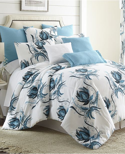 Colcha Linens Seascape Duvet Cover Set-King
