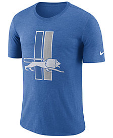 Nike Men's Detroit Lions Historic Crackle T-Shirt