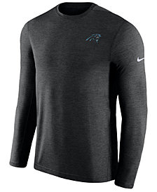 Nike Men's Carolina Panthers Coaches Long Sleeve Top