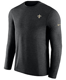 Nike Men's New Orleans Saints Coaches Long Sleeve Top